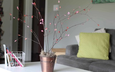 Simple DIY Cherry Blossom Branches