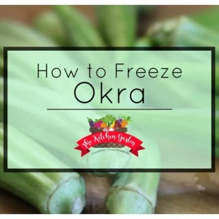 How to Freeze Fresh Okra