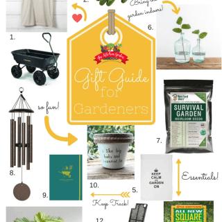 Ultimate Gardener Gift Guide