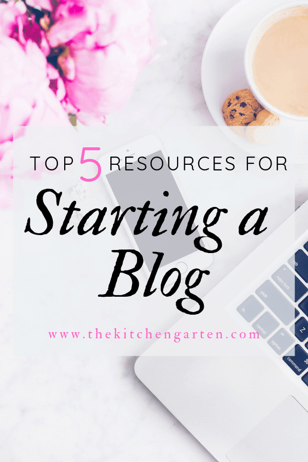 resources for starting a blog