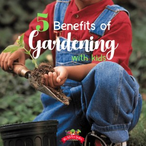 5 benefit of gardening with kids