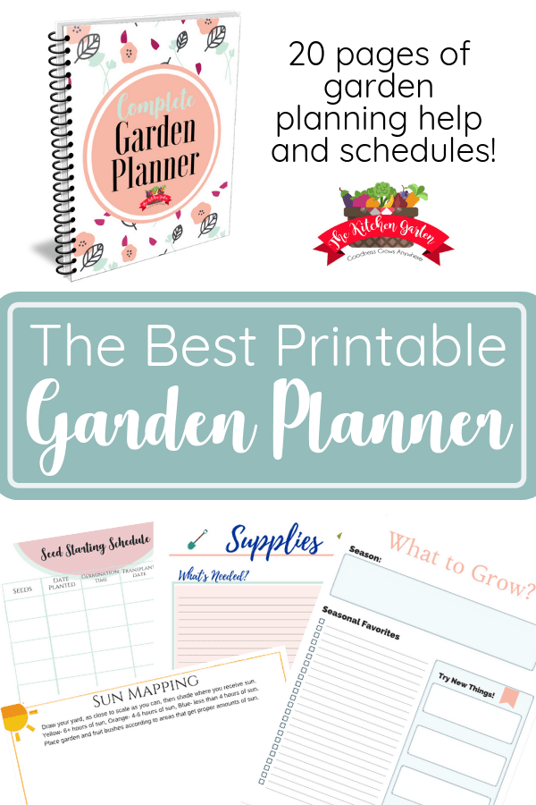 Grow your best gardening yet! From new gardeners to green thumbs, this printable Garden Planner will help you plan and grow a great garden!