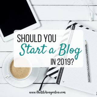 Should You Start a Blog?