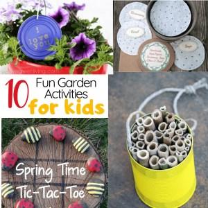 10 Fun Gardening Activities for Kids