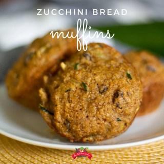 Easy Zucchini Bread Muffins