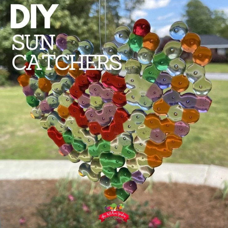 DIY Bead Sun Catchers