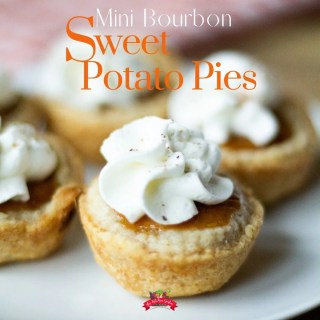 Mini Bourbon Sweet Potato Pies