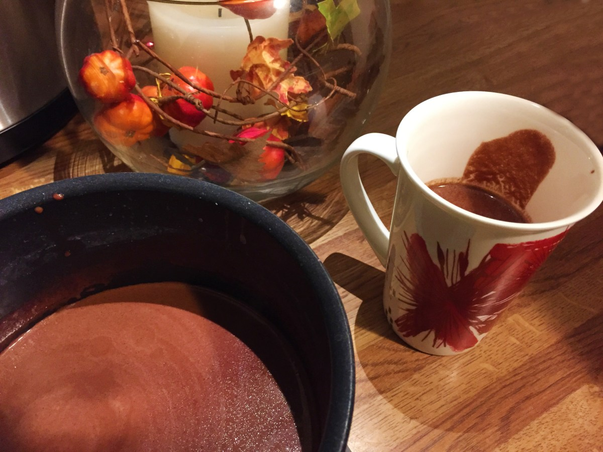 Red Wine Hot Chocolate - The Kitchen Gent