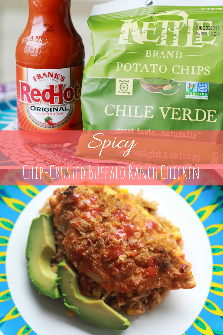 Spicy Chip-Crusted Buffalo Ranch Chicken