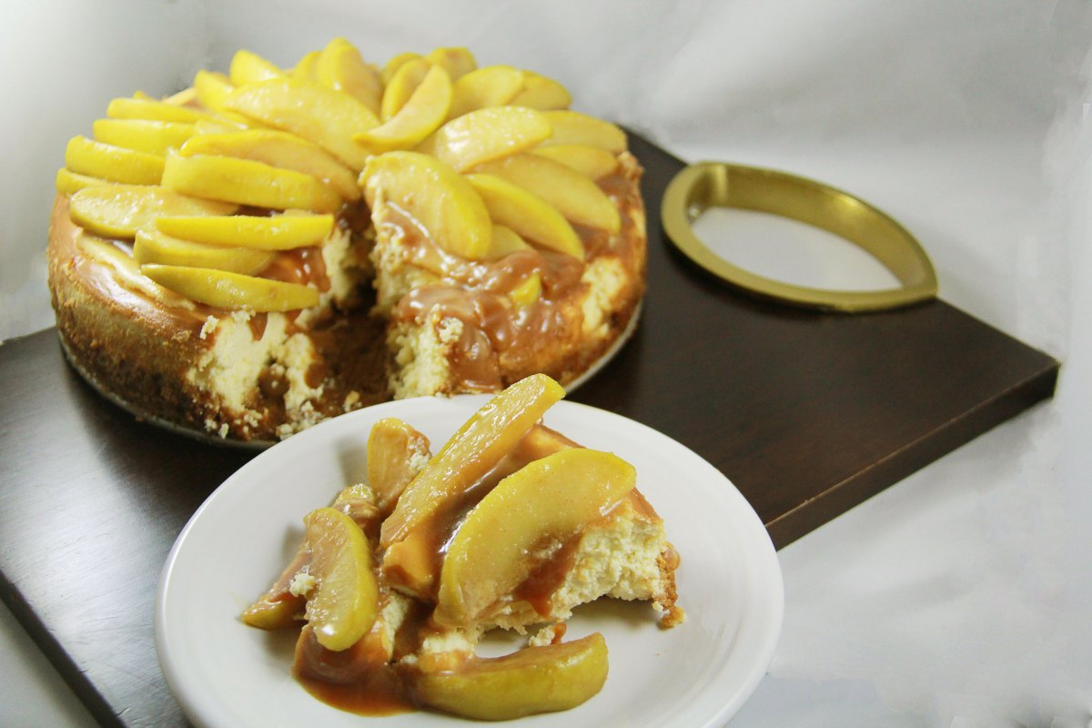 Apple Pie Cheesecake | The Kitchen Gent
