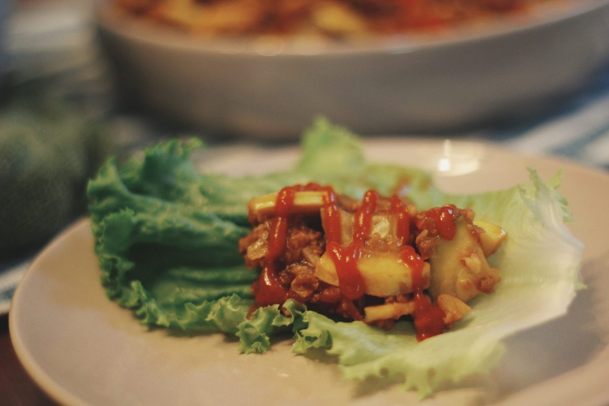 Lettuce Wraps with Teriyaki Vegetables | The Kitchen Gent
