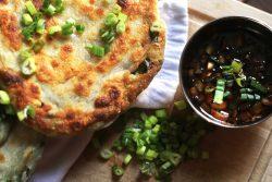 Scallion Pancakes | The Kitchen Gent