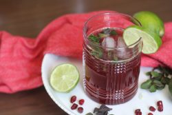 Pomegranate Mojito | The Kitchen Gent
