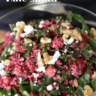 Red Couscous Kale Salad