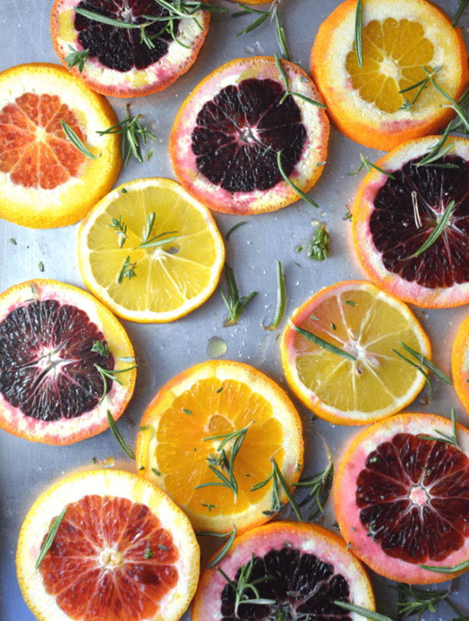 Herb-Roasted Citrus
