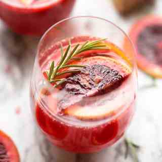 Blood Orange Mimosas