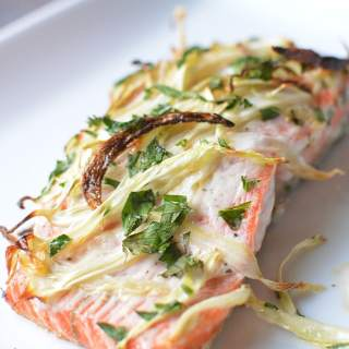 Broiled Fennel Salmon For Weeknights or Weddings