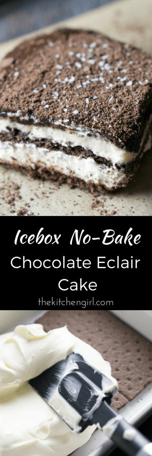 Chocolate Graham Cracker Icebox Cake Recipes
