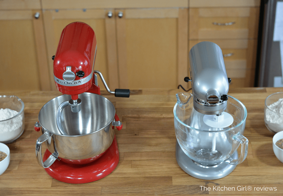 KitchenAid Stand Mixer Artisan Vs Professional Video Review Helps You  Compare And Decide Best Size And