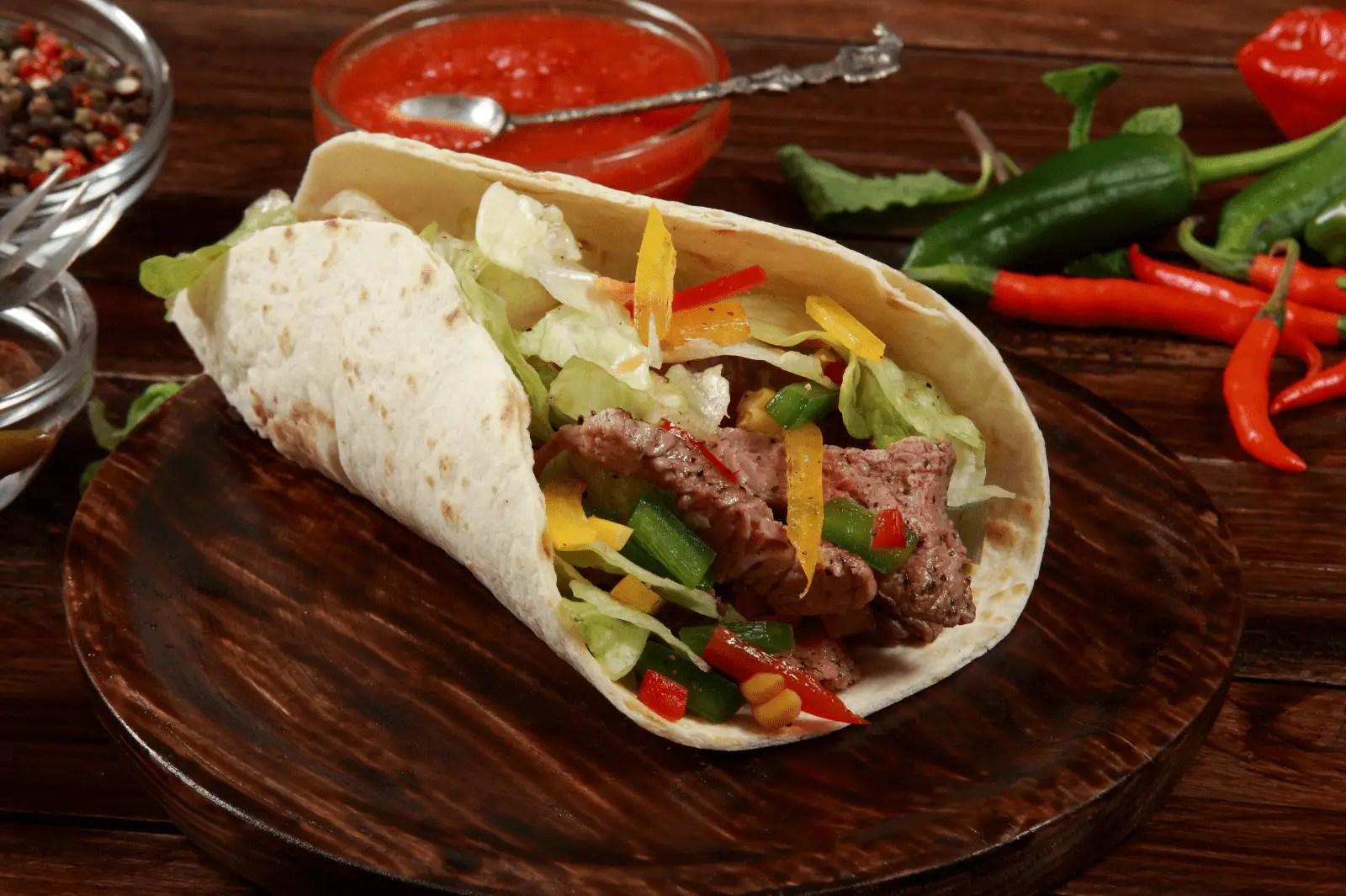 Soft Shell Taco vs Burrito