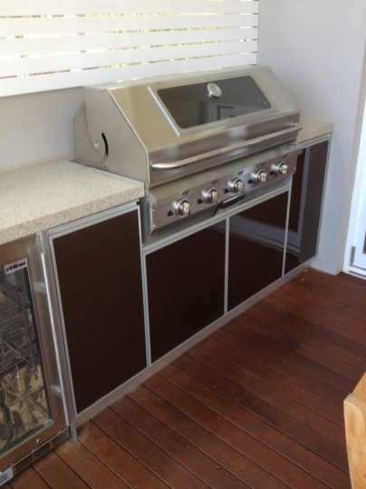 custom joinery outdoor kitchen bbq