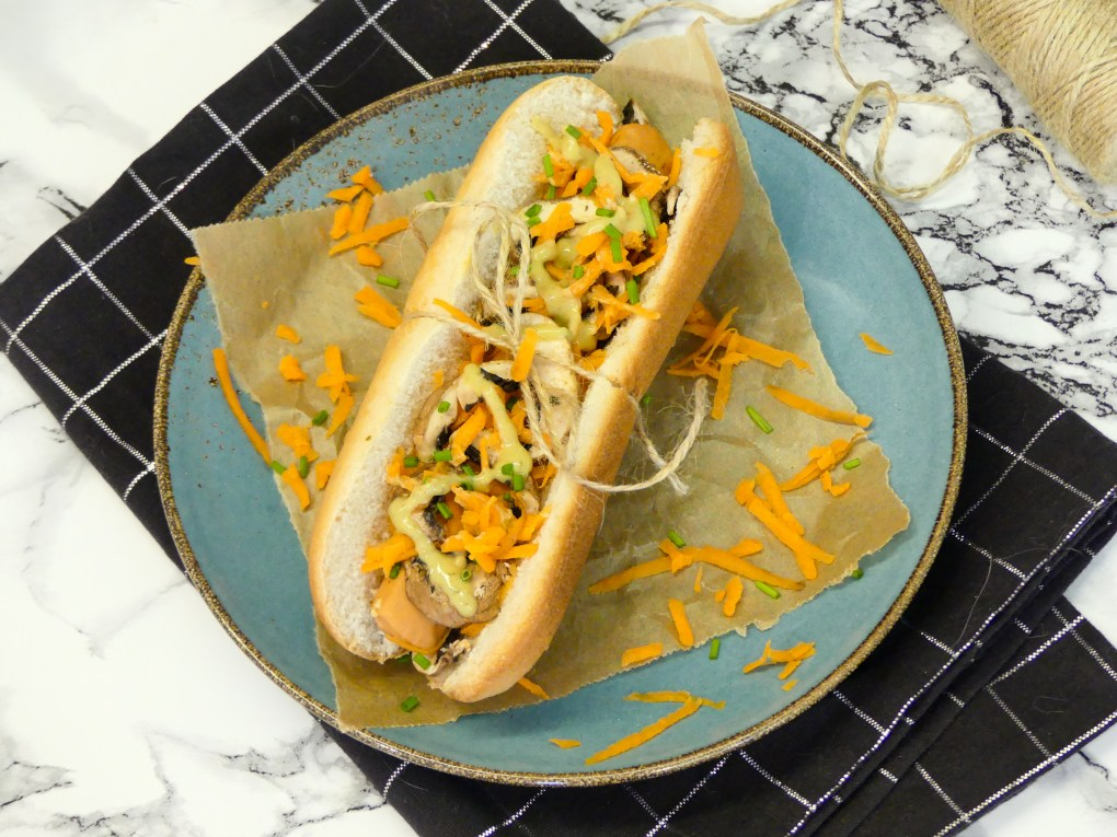Hot dog végétarien (4)