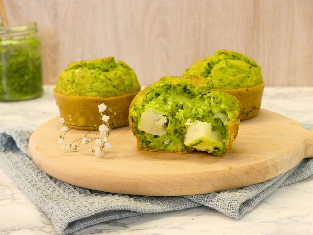 Muffins ail des ours et chèvre (1)