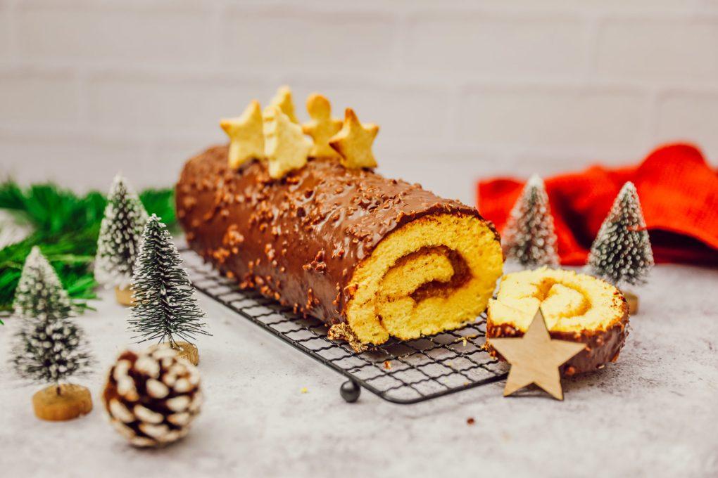 Biscuit roulé & glaçage rocher (1)