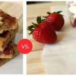 Strawberry Blondies, Two Ways