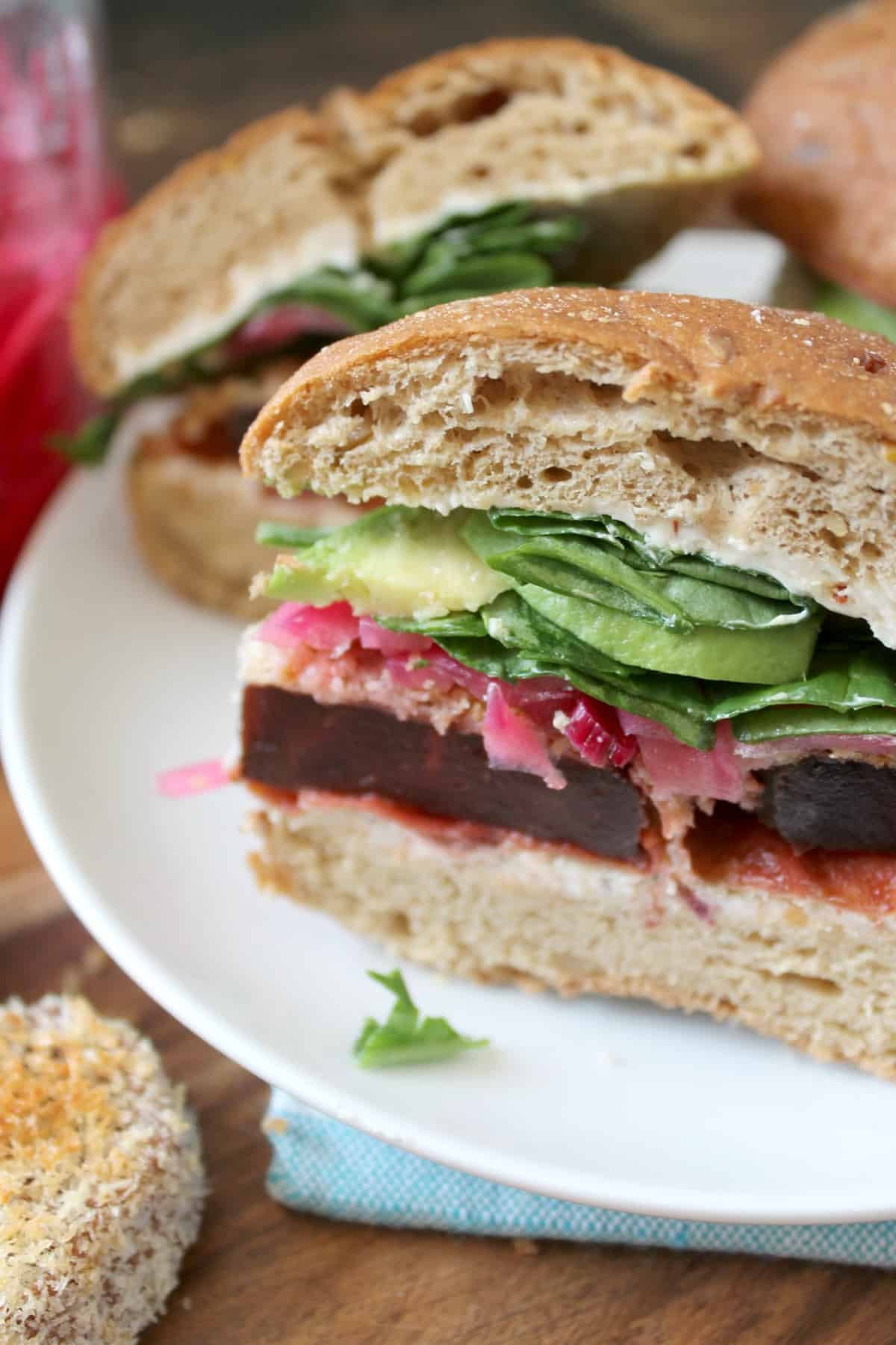 Crispy Beet Sliders