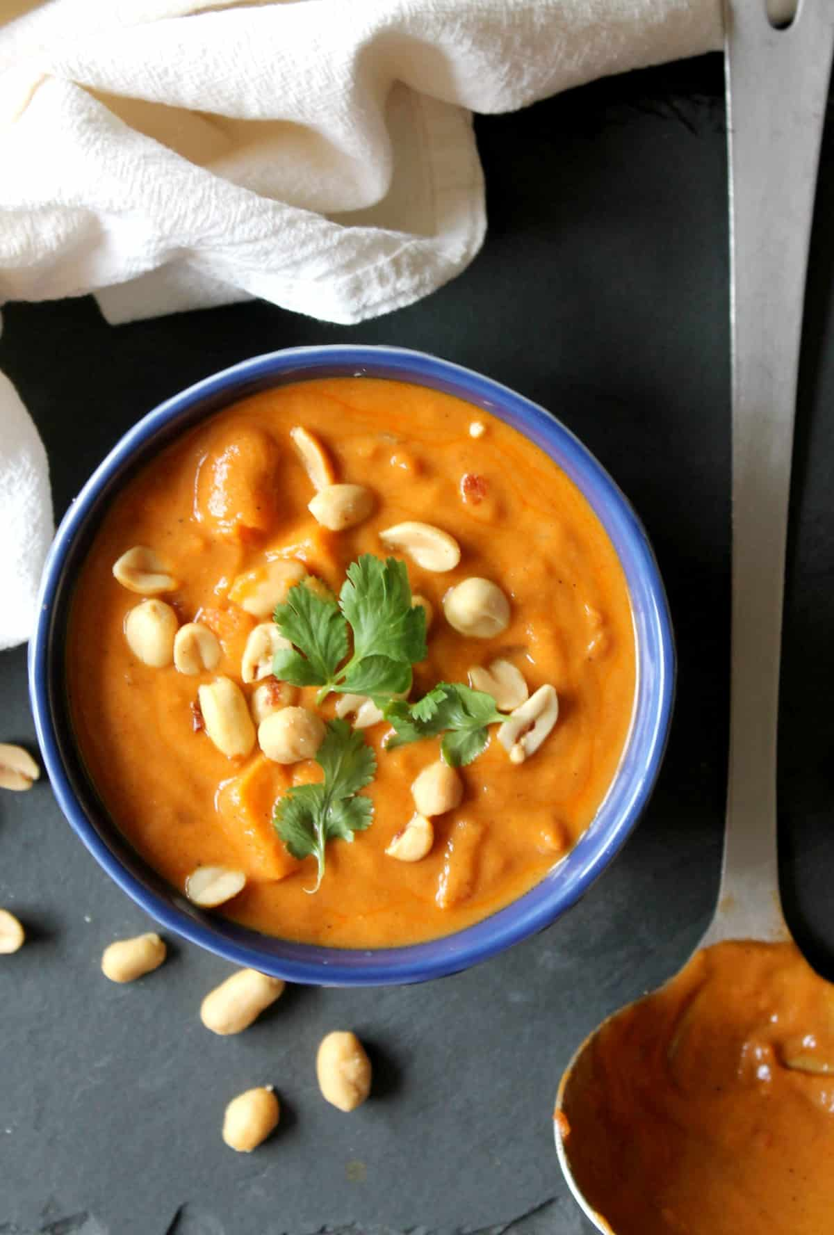 Peanut Sweet Potato Soup