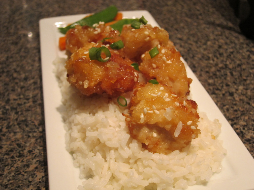recipe: crispy honey lemon chicken [4]