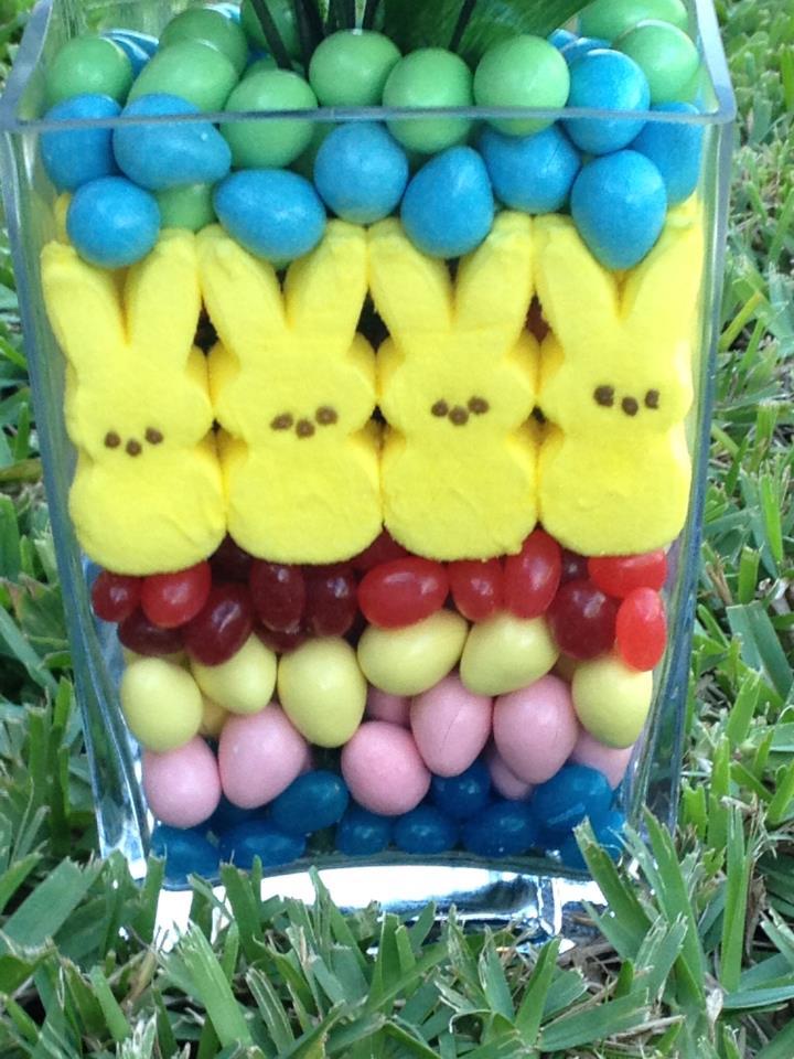 Peeps Easter Centerpiece | The Kitchen Prescription