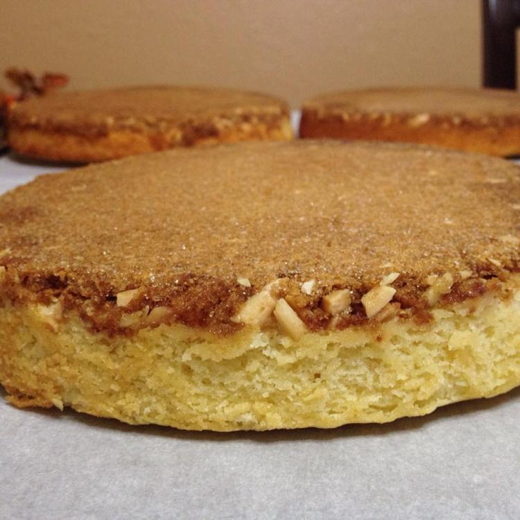 Orange Crunch Cake6