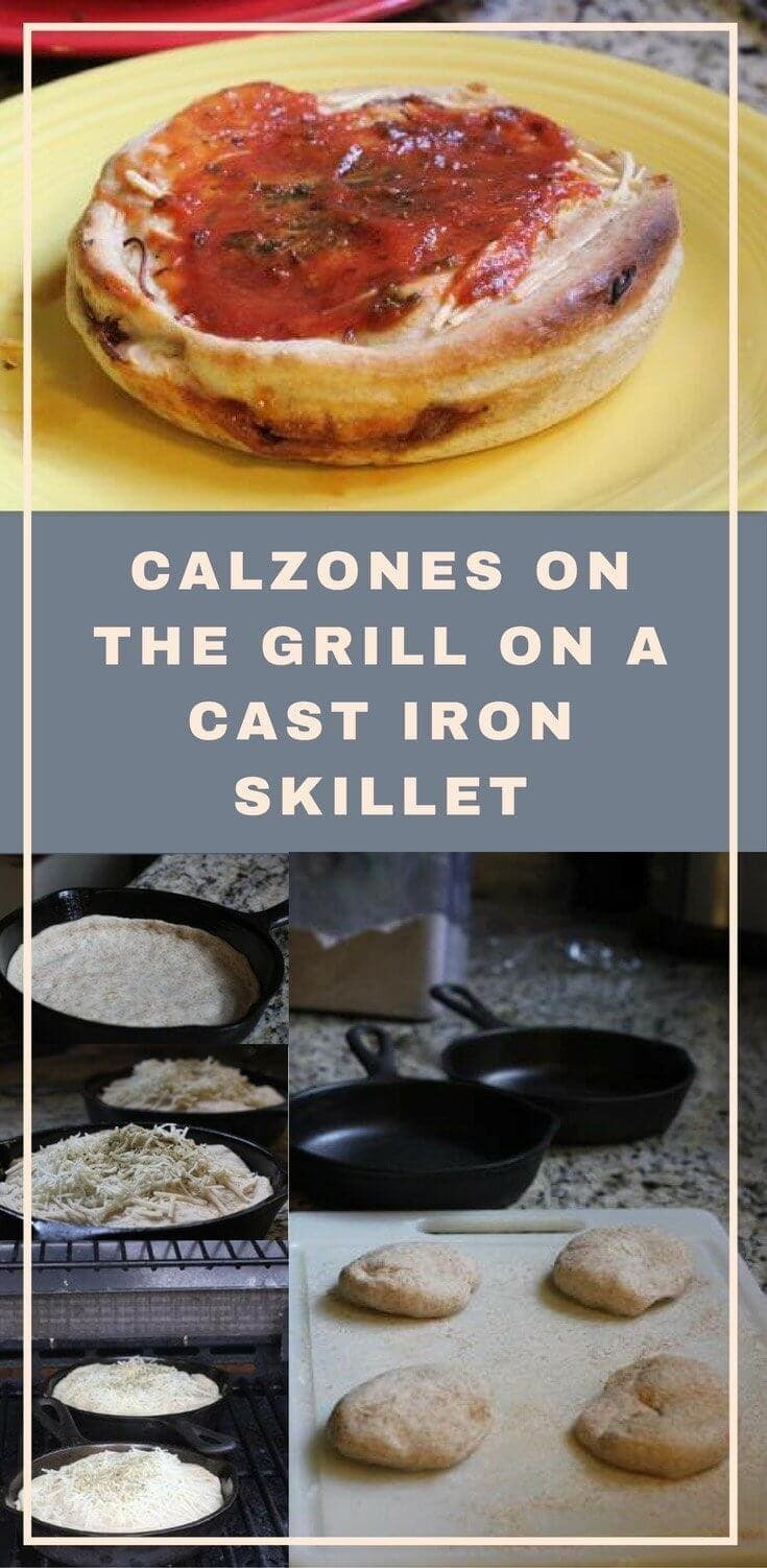 grilled calzones