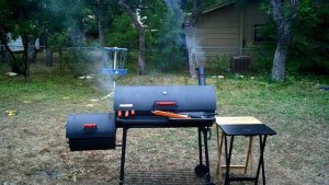 One example of a traditional meat smoker.