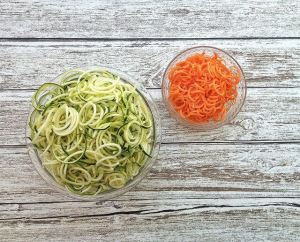 Give a new twist to fruits and veggies with a spiralizer!