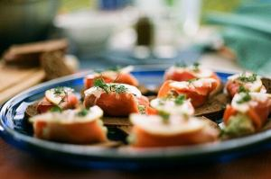 Smoked salmon is amazingly versatile! Serve as an appetizer or as the main course!