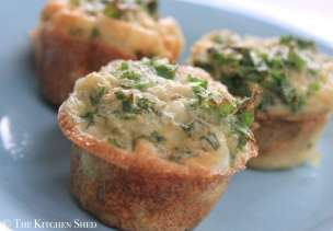 Clean Eating Kale and Stuffing Frittata Cups