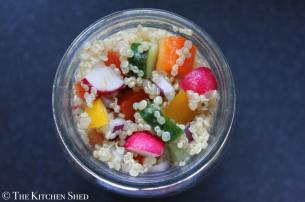Clean Eating Quinoa Funfetti Salad
