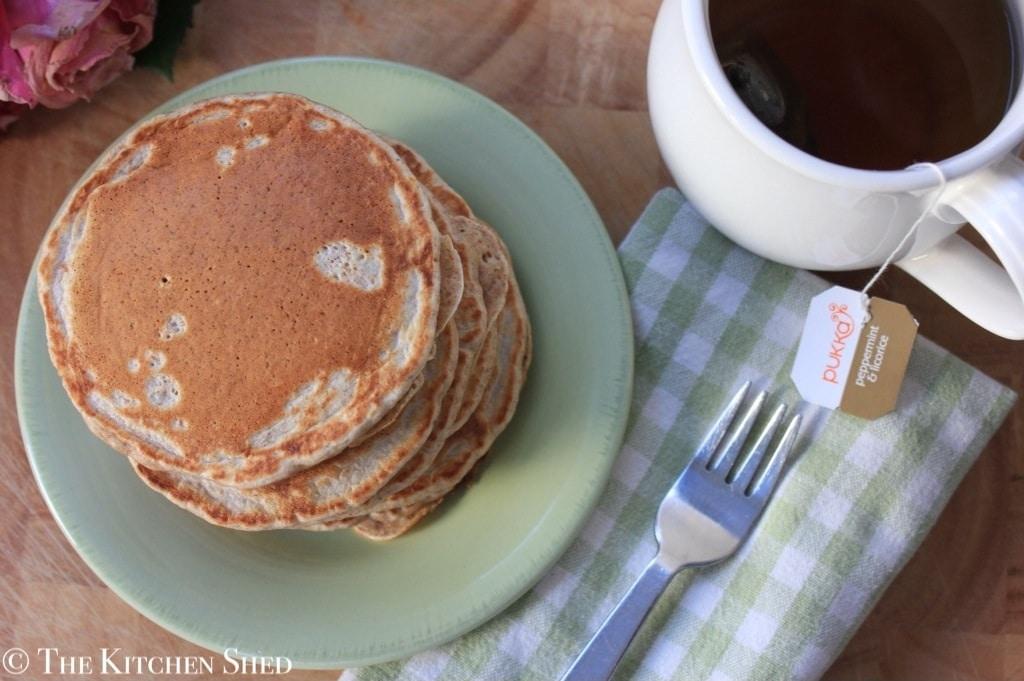 Clean Eating American Pancakes