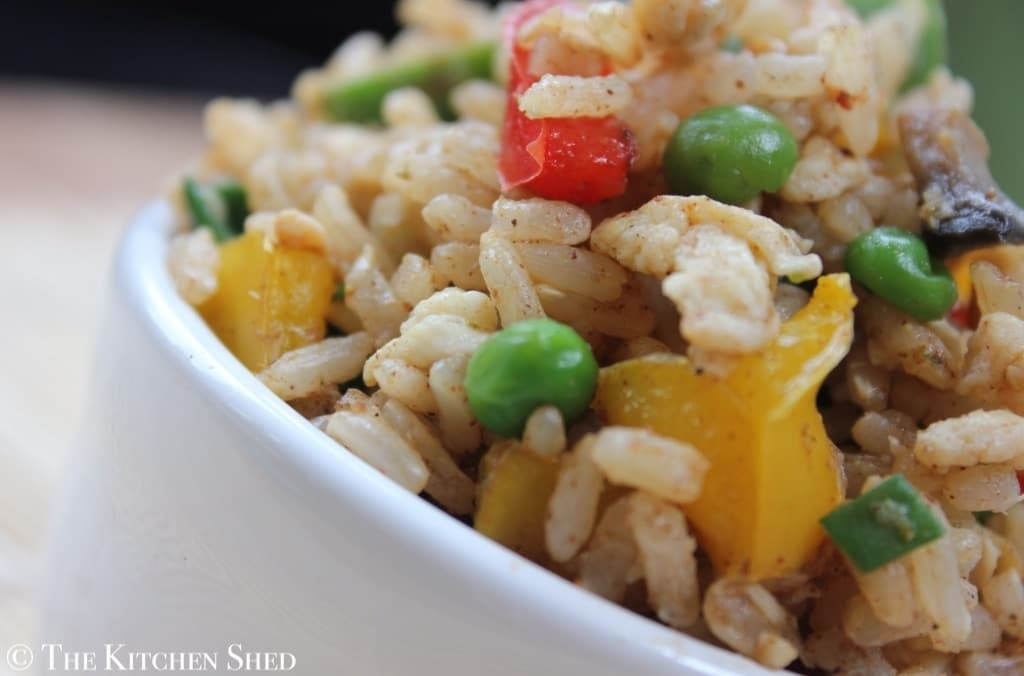 The Kitchen Shed - Clean Eating Chinese Fried Rice