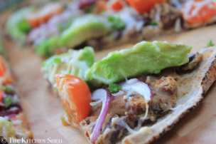 Clean Eating Mexican Pizza