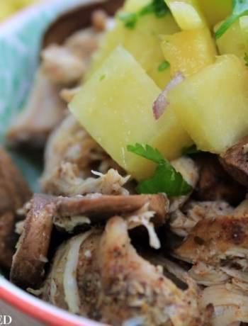 Clean Eating Slow Cooker Jamaican Jerk Chicken