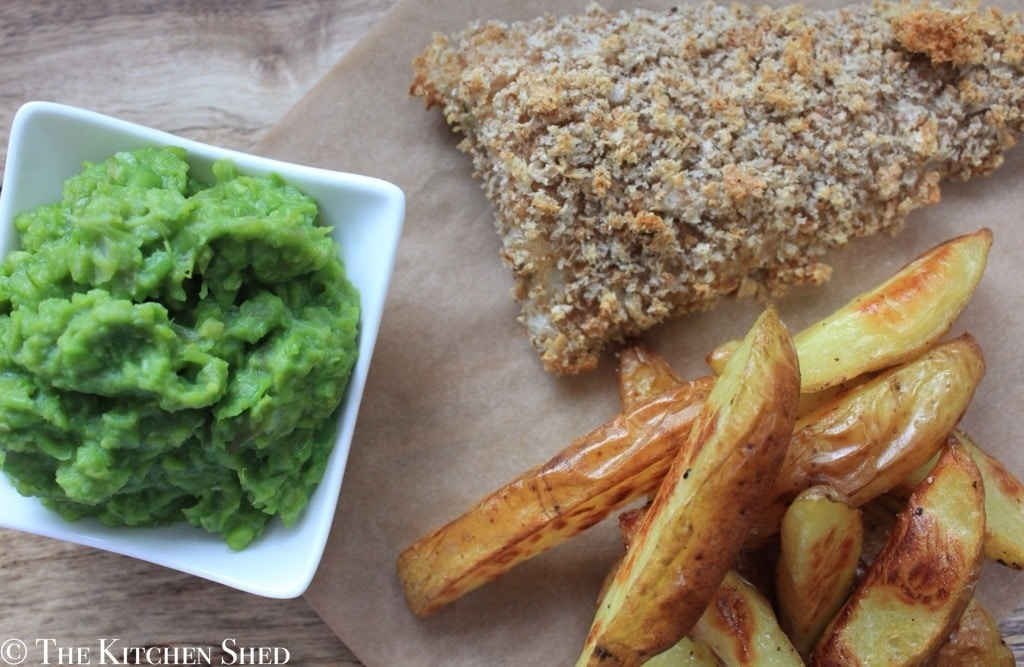 Clean Eating Mushy Peas - The Kitchen Shed