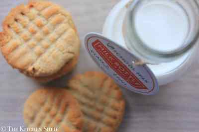 The Kitchen Shed - Clean Eating Peanut Butter Cookies