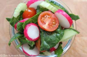 Clean Eating Everyday Side Salad
