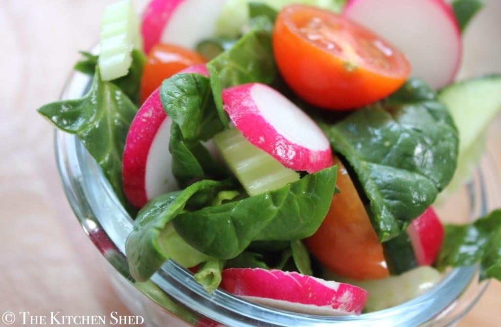 Clean Eating Everyday Side Salad