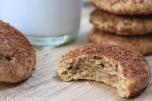 Clean Eating Snickerdoodles – The Gracious Pantry Guest Post