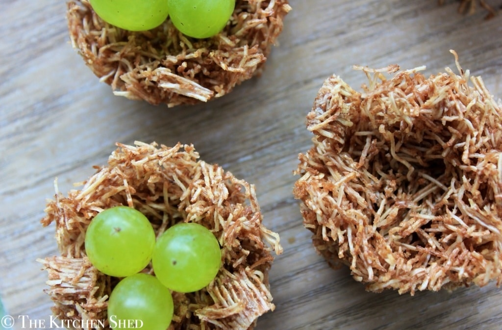 The Kitchen Shed - Clean Eating Easter Nests